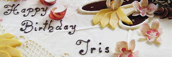 Geburtstagstorte für Iris